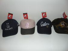 4) LA Los Angeles Galaxy Adidas Soccer MLS Hat Cap WOMEN Ladies Camo NEW NWT