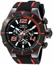 Invicta 20109 Men's S1 Rally Chronograph 53mm Black Dial Watch