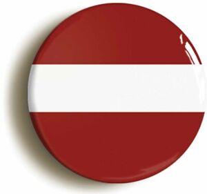 LATVIA LATVIAN NATIONAL FLAG BADGE BUTTON PIN