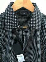 """Paul Smith Gents Formal Tailored Shirt in Star Print Sizes 15"""" -17.5"""" - RRP £160"""