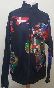 Unusual  Sport Cycling Multi-Sport Long Sleeve Jacket Track Top Size Est XXXL