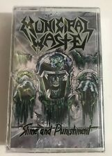Municipal Waste - Slime and Punishment Cassette Tape (2017) NEW SEALED