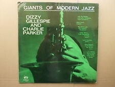 Dizzy Gillespie & Charlie Parker:Giants Of Modern Jazz.Concert Hall BJ-1204.1962