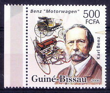 Karl Benz, Inventor of the first automobile, Transport, Guine Bi. MNH,