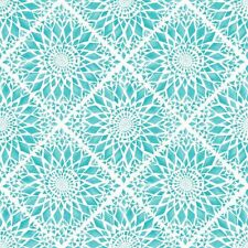 Rasch Papel pintado Cabana 148611 Mosaicos Azulejos turquesa blanco de Pared