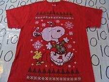 Medium- Peanuts Christmas T- Shirt