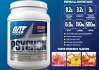 GAT PSYCHON Powerful Pre-Workout Pump & Energy Formula, 20 Servings PICK FLAVOR