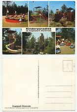 14632-niños en el paraíso pájaro Park waldrode-vieja postal