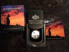 2011 Kangaroo at Sunset One Dollar Silver Proof Coin NEW