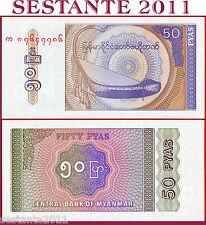 MYANMAR - BIRMANIA -   50 PYAS 1991 -  P 68  -  FDS / UNC