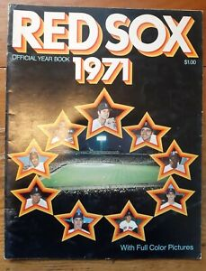 1971 Boston Red Sox Yearbook - Baseball - Complete Issue