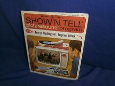Vintage Ge Show'N Tell George Washington's Surprise Attack Picturesound Program