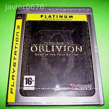 THE ELDER SCROLLS IV OBLIVION PAL ESPAÑA NUEVO Y PRECINTADO PLAYSTATION 3 PS3