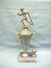 male baseball trophy award pewter finish cup with ball trim award