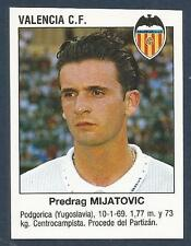 PANINI FUTBOL 93-94 SPANISH -#412-VALENCIA C.F. & YUGOSLAVIA-PREDRAG MIJATOVIC