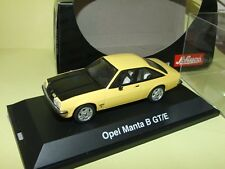 OPEL MANTA B GT/E Jaune capot Noir SCHUCO