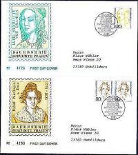 BRD 1994: Frauen! FDC Nr. 1755+1756 mit Bonner Sonderstempeln! Gelaufen! 1609