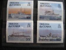 Tristan Da Cunha: 1990 RN Ships MNH