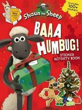 Baaa Humbug! A Shaun the Sheep Sticker Activity Book by Aardman Animations Paper