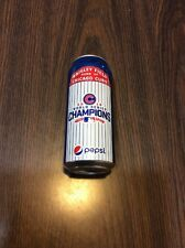 CHICAGO CUBS WORLD SERIES CHAMPIONS 2016 Pepsi Can (empty) Wrigley Field