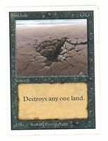 Sinkhole - UNLIMITED - Old School - MTG Magic The Gathering #01