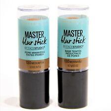 Maybelline Master Blur Stick/Face Studio-Tinted Primer- #130-Medium/Tan Lot of 2