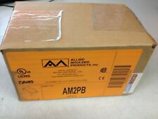Allied Moulded Products AM2PB Fiberglass Push Button Enclosure 7x4x3