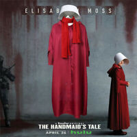 The Handmaid's Tale Offred Cosplay Costumes Women Halloween Full Set Outfit