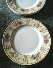 "NEW Cloverleaf England Floral Pastures 11"" Dinner Plate(s) Woodgrain"