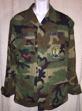 US Air Force Air Combat Command 269 CBCS Longsleeve Fatigues Shirt Size Small