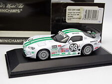 Minichamps 1/43 - Dodge Viper GTS R 24H Daytona 1996 Canaska N°98