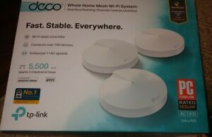 TP-LINK Deco M5 1300 Mbps 2 Port 1300 Mbps Wireless Router