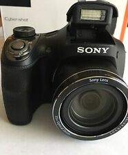 Sony DSC-H300 Cyber Shot 20 .1 Mega Pixel Digital Camera X35 Optical Zoom