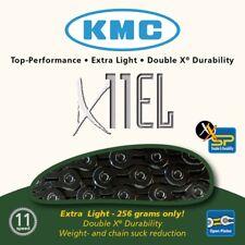 KMC x11el 11 Espacios Cadena 118 Glieder Blacktech Dimension: 1/2 × 11/128″