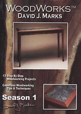 David J Marks WoodWorks Season 1 DVD Woodworking Furniture Instruction DIY Video