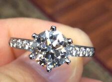 TIFFANY & CO ROUND BRILLIANT CUT DIAMOND D VVS2