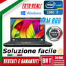 "PC NOTEBOOK LENOVO THINKPAD T520 15.6"" CPU I7 8GB RAM +LICENZA WINDOWS 10 PRO!"