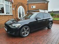 2013 (62) BMW 1 SERIES 114i SPORT, 10 MONTHS MOT, GOOD CONDITION,