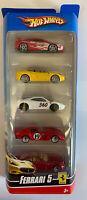 Hotwheels Ferrari 5 Pack 355 Challenge, California, 360 Modena, 250 GTO, 612
