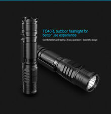 Wuben TO40R 1200LM CREE XP-L2 LED USB Rechargeable Flashlight With 18650 Battery