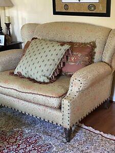 Carol Hicks Bolton & EJ Victor Upholstered Chair & Half/ Loveseat, Designer