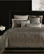 NEW Hotel Collection Dimensions Brown KING Duvet Cover MSRP $420