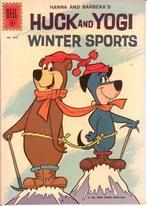 HUCK & YOGI WINTER SPORTS (1962 DELL) F.C.1310 VF1ST COMICS BOOK