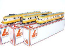 "Lima HO 1:87 French SNCF RGP ""TURBO TRAIN"" X-2780 3-Piece MULTIPLE UNIT MIB`80!"