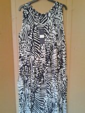 Phool 100% vIscose rayon crepe slip dress unlined 2 side hip level pockets
