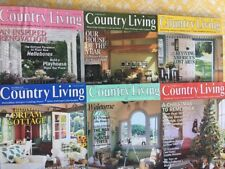 Country Living Magazine Back Issues 1997 Decorating Antiques Crafts Garden+