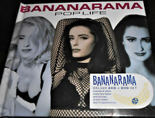BANANARAMA  Pop Life Deluxe 2 CD + DVD Edition includes 28 Page Booklet