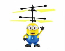 TOY-DESPICABLE ME- INFRARED INDUCTION MINION AIRCRAFT TOY WITH LED LIGHT, Age 7+
