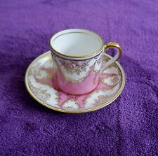 VINTAGE STAFFORDSHIRE CHINA TEA CUP AND SAUCER - ENGLAND **BEAUTIFUL**