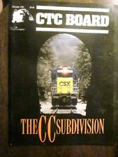 CTC Board Railroads Illustrated #171 January 1991 (Very Good) The CC Subdivision